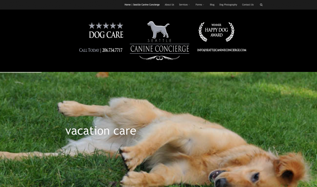 Seattle Canine Concierge