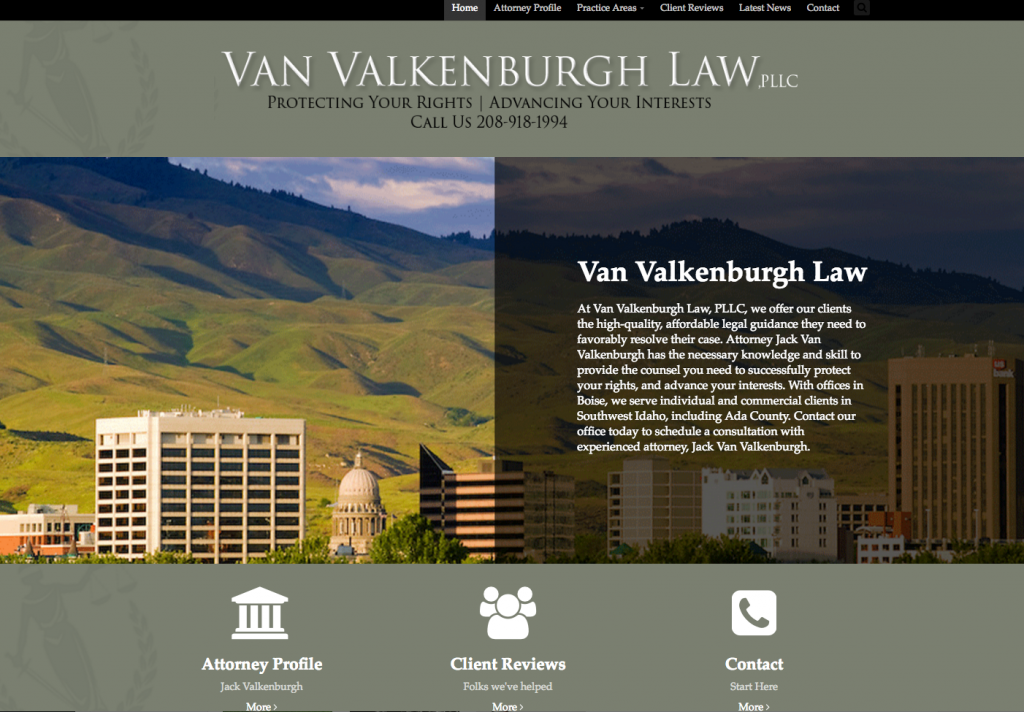 Van Valkenburgh Law