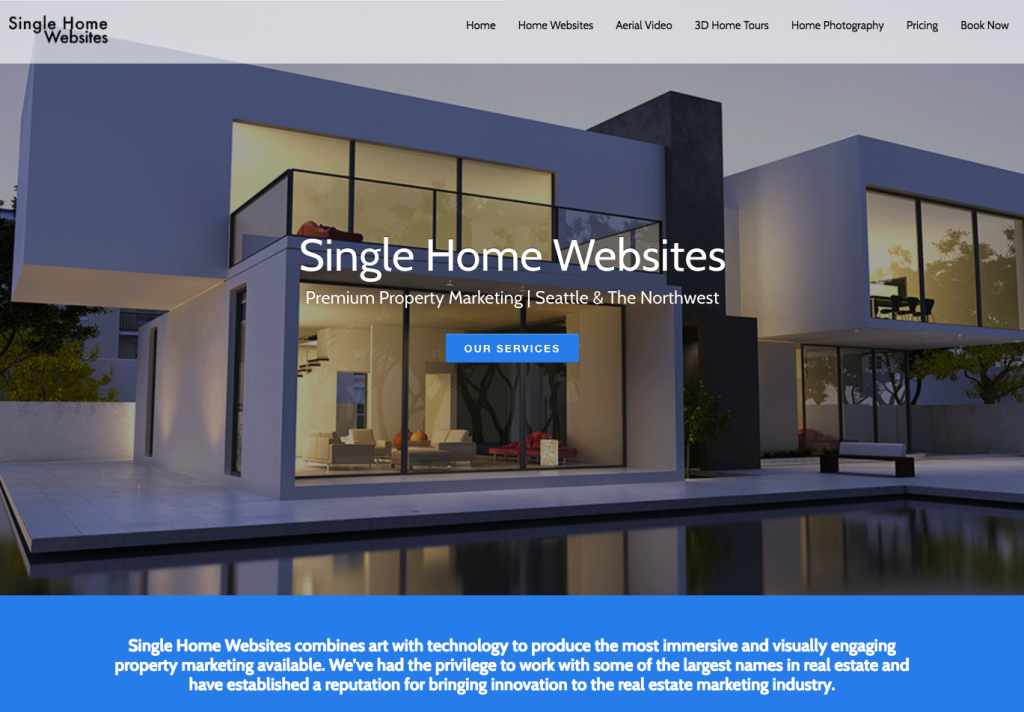 Single Home Websites